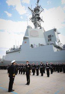 Entra en servicio Hobart DDG-39