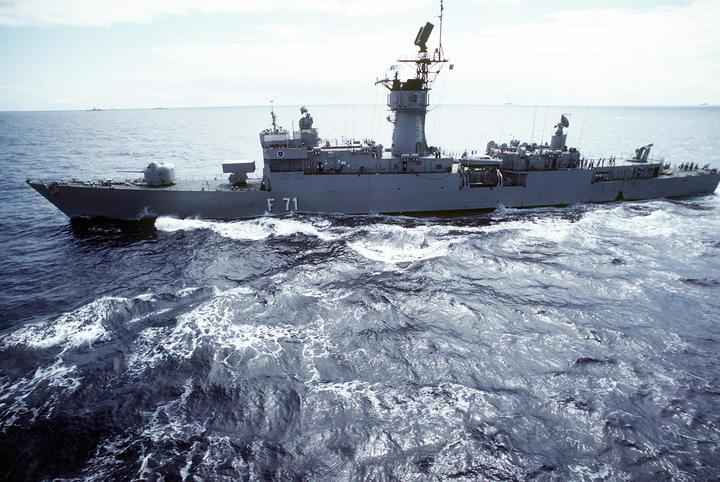 fragata tipo Baleares Error Wilson