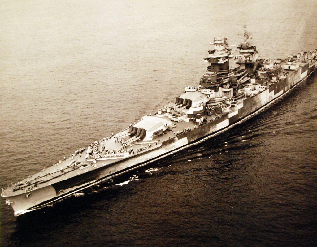 Acorazado Richelieu 1943