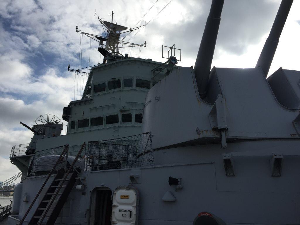 Puente de Mando y Torre HMS Belfast Londres