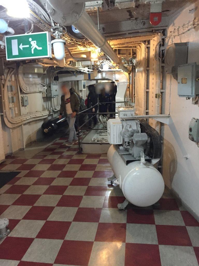 HMS Belfast Londres Interior