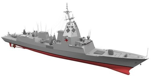 Render Propuesta Navantia SEA5000