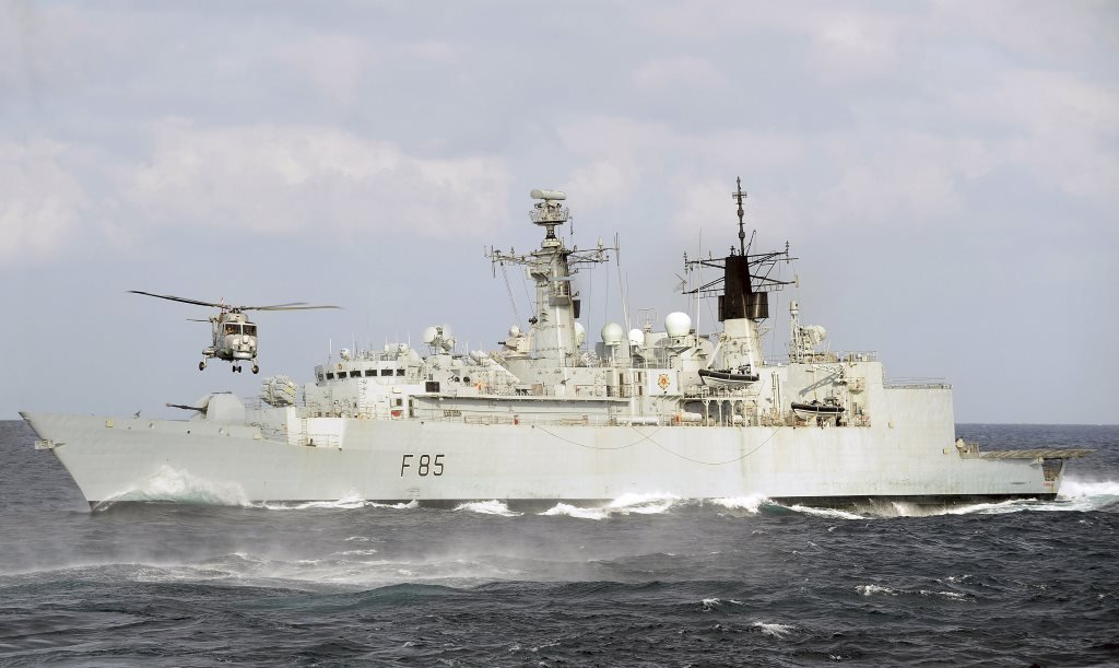 Royal Navy Frigates HMS Cumberland