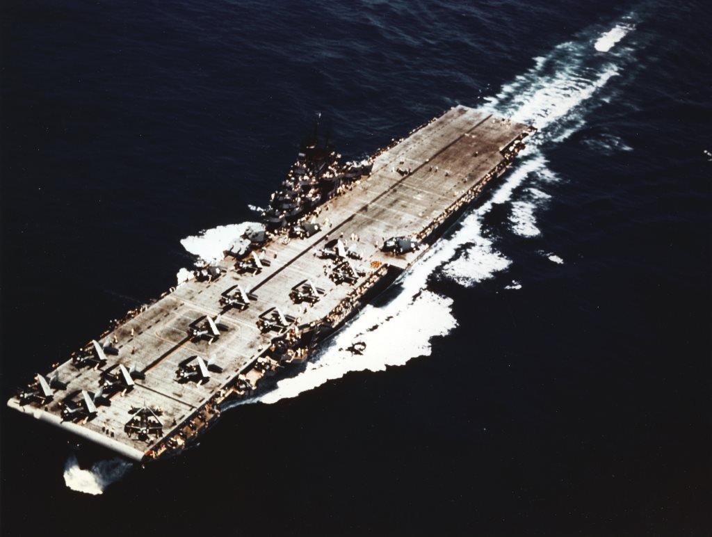 USS Yorktown CV-10 Portaaviones clase Essex