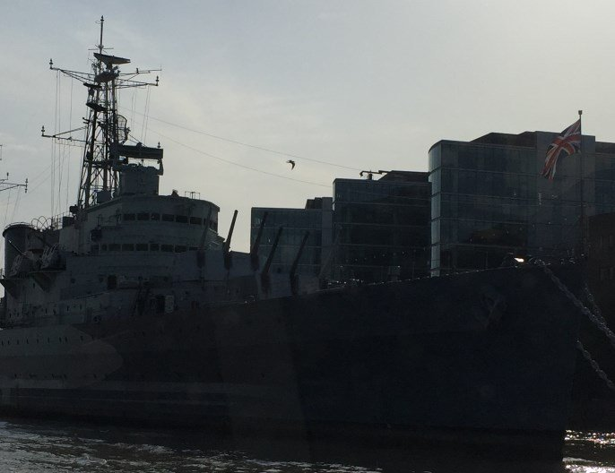 Proa Crucero HMS Belfast Londres