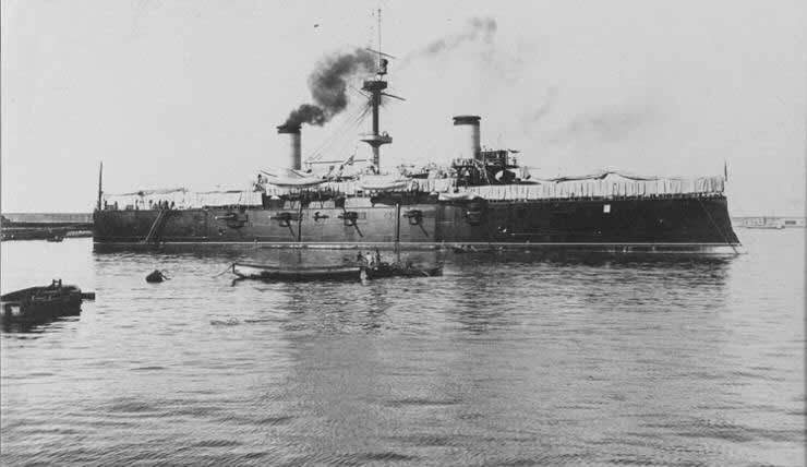 Desastre del 98 Crucero Acorazado Cristobal Colón