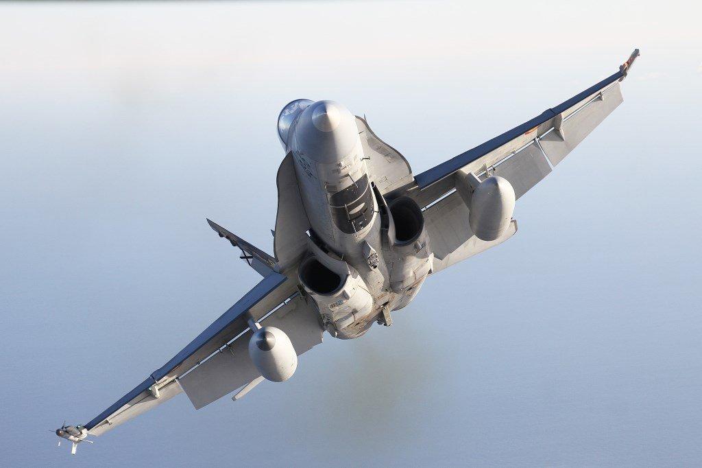 F-18 Ejercito del Aire. F-35 para la Armada Española