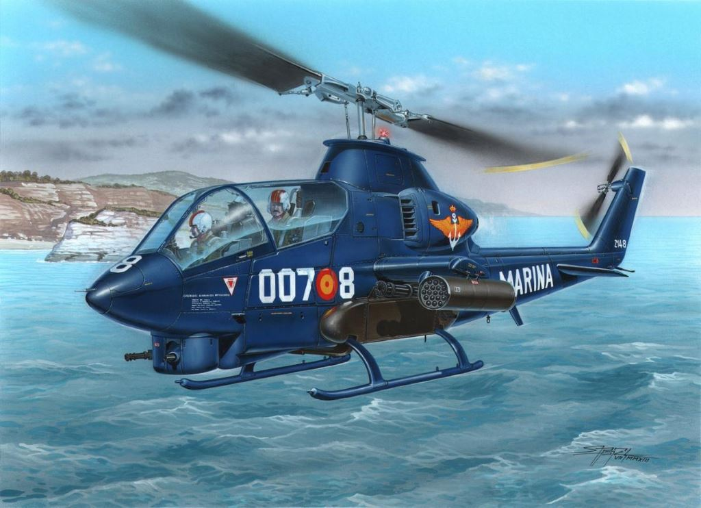 Maquetas FAS AH-1G Armada Special Hobby