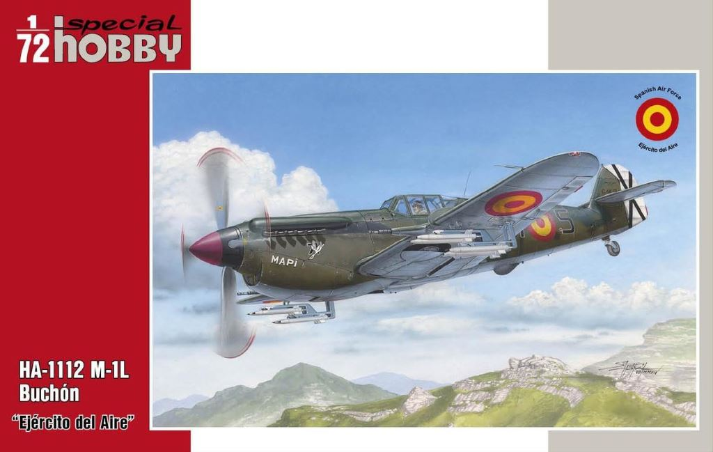 Maquetas FAS HA-1112 Buchon Special Hobby