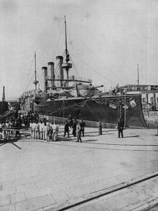 Guerra 98 Crucero Carlos V
