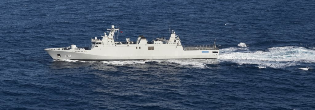 Fragata marroqui RMN Sultan Moulay Ismail (FF 614)