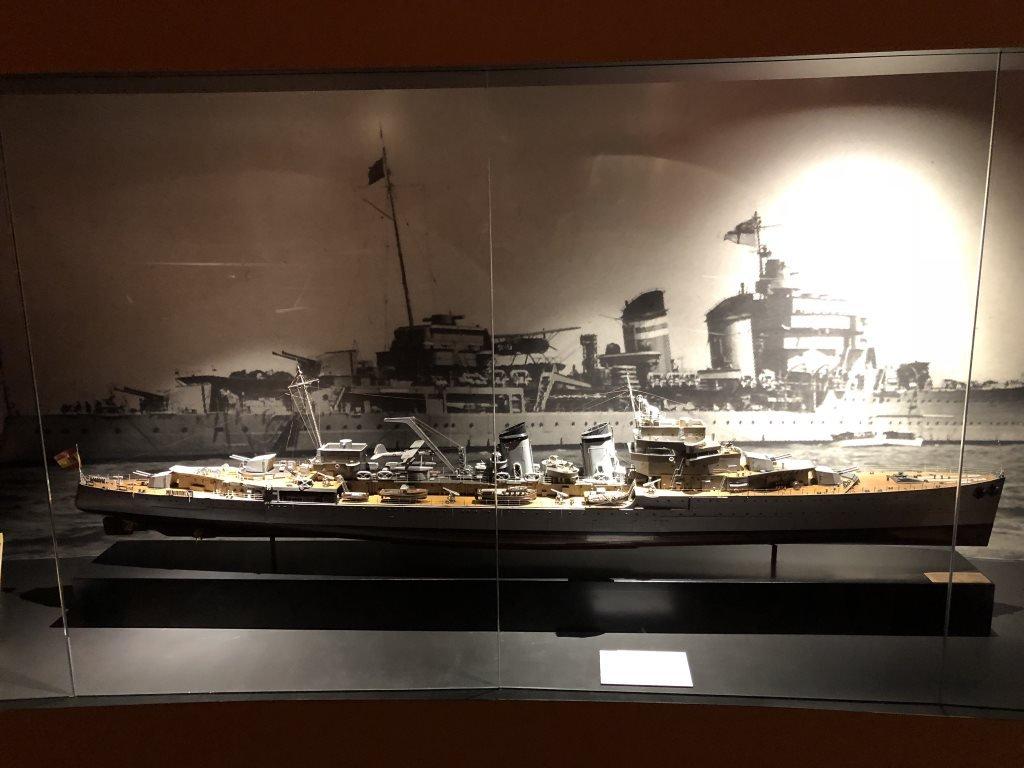 Museo Naval Mar de Alas Cervantes y He114