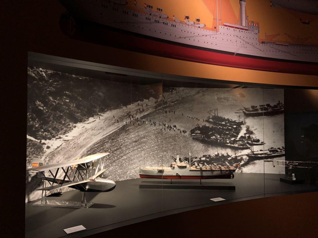 Museo Naval Mar de Alas Hidroaviones y Dédalo