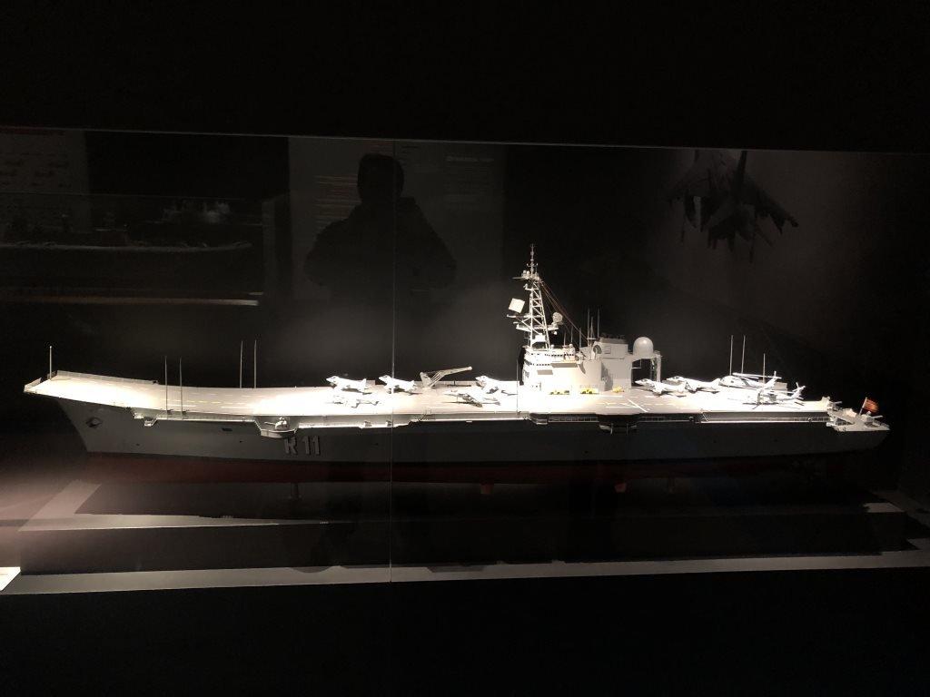 Museo Naval Mar de Alas Maqueta Príncipe de Asturias