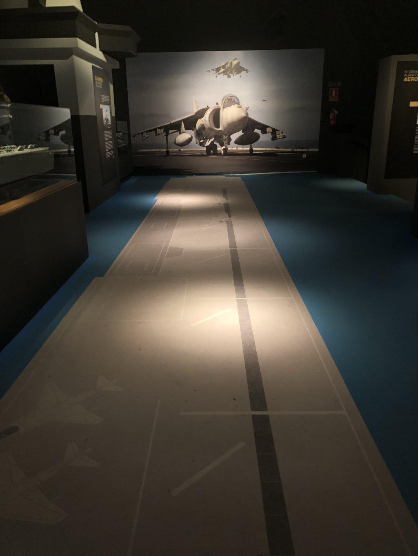 Museo Naval Mar de Alas cubierta Juan Carlos I