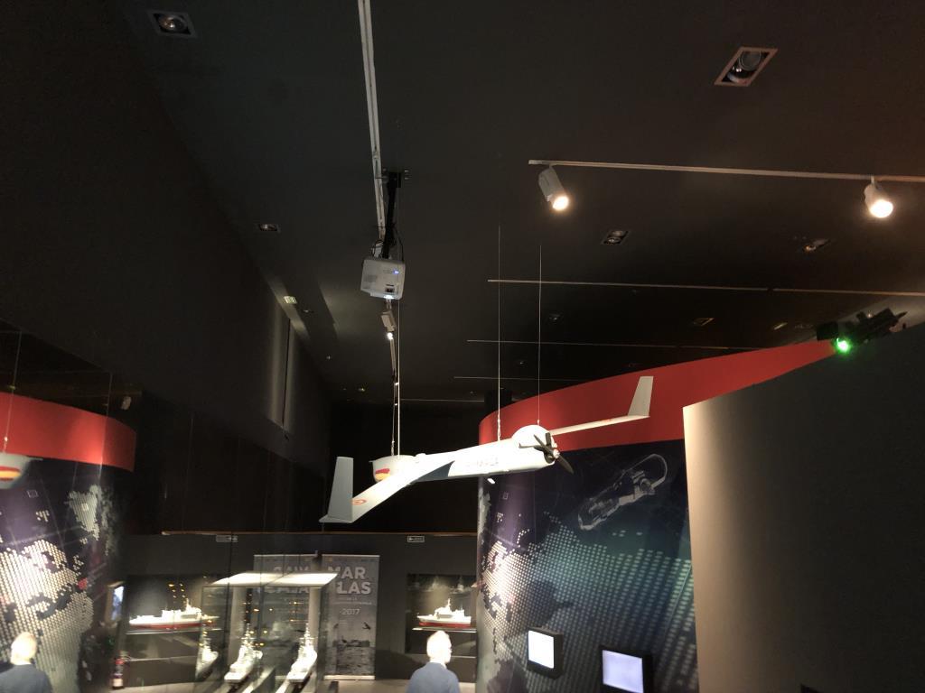 Museo Naval Mar de Alas drones