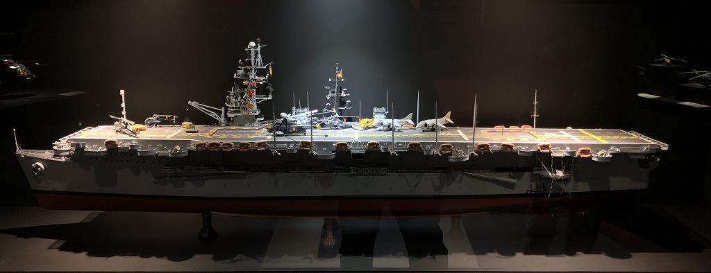 Museo Naval Mar de Alas maqueta Dédalo