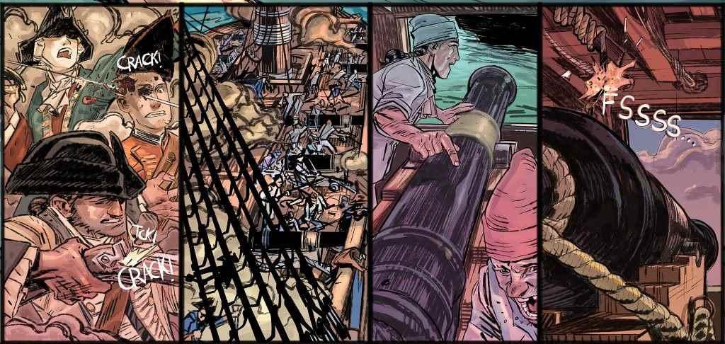Blas de Lezo El Comic viñeta