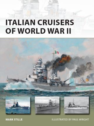 Italian Cruisers of World War II Portada
