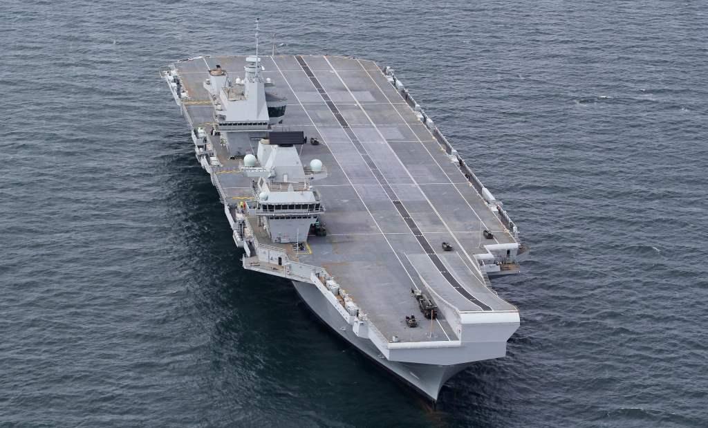 SRVL Portaaviones Queen Elizabeth
