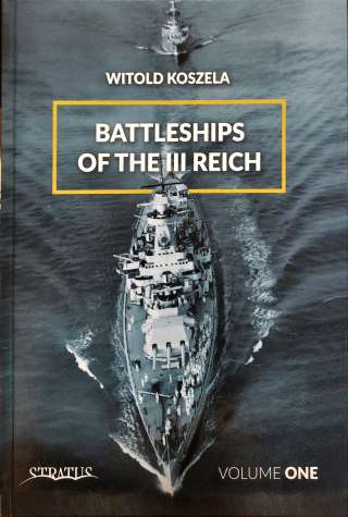Battleships of III Reich Volume One Portada