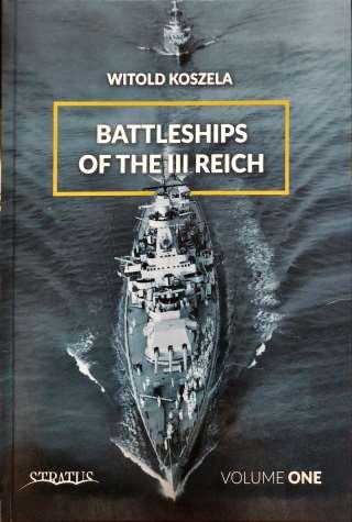 Battleships of III Reich Volume One Portada