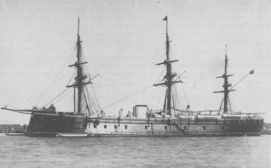 Fragatas blindadas armada española