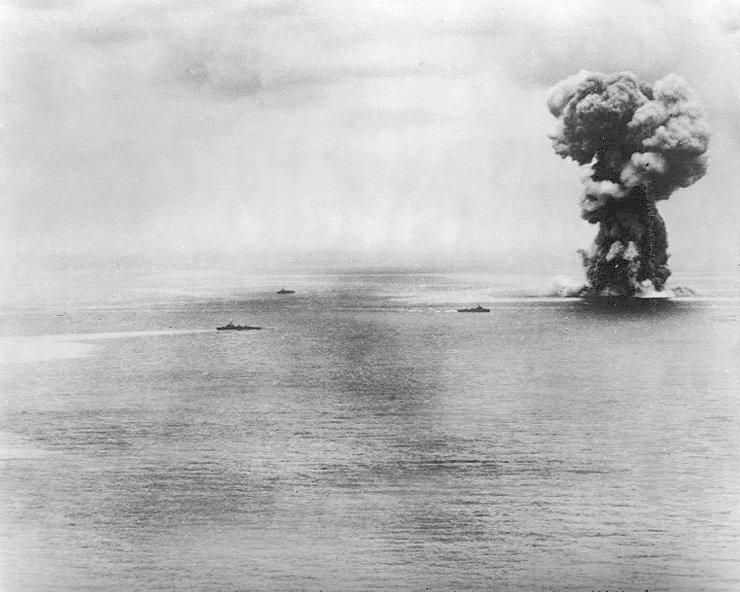 Explosión del Yamato