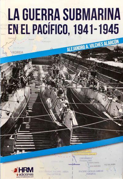 La Guerra submarina en el pacífico portada