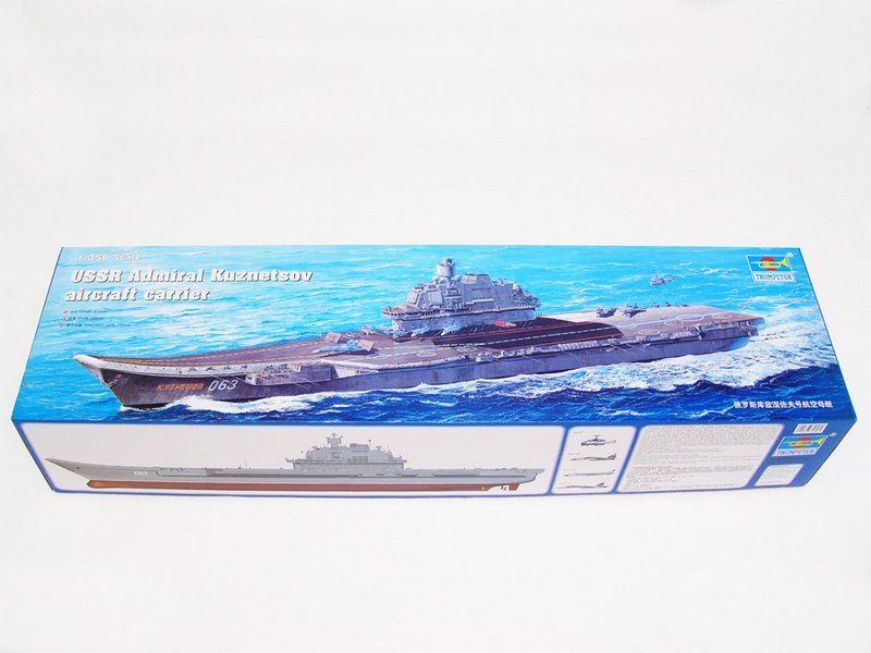 Maqueta portaaviones Kuznetsov
