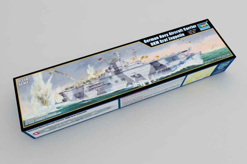 Maqueta portaaviones Graf Zeppelin